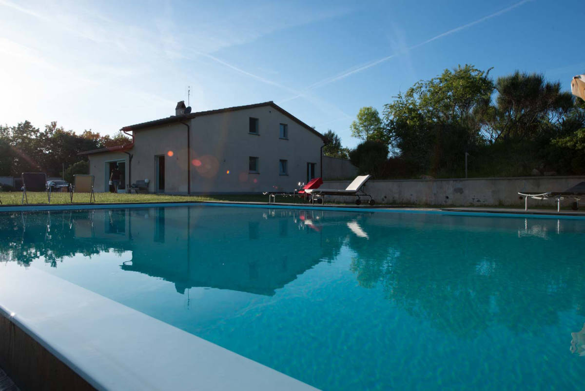 Casa da piscina affordable aluguer de casa para frias em - Piscina nova milanese ...